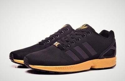 adidas zx flux damskie gold