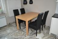 Czarne krzesła, na magazynie, produkt polski