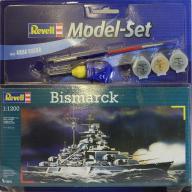 Model do sklejania REVELL Statek Bismarck + farby
