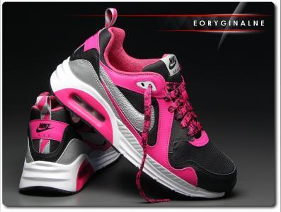 Buty damskie Nike Air Max Trax 644470 006 Różowe