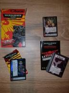 Warhammer 40k 40000 CCG karty Chaos Deck