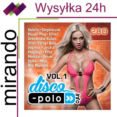 DISCO POLO INFO VOL.1 - 2CD