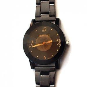 Zegarek muzyczny nuty