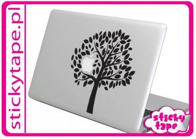 Naklejka na Maka, MacBooka Apple drzewo jabłoń