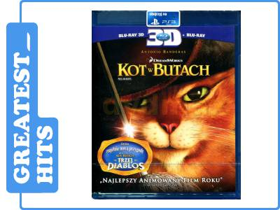 Kot W Butach 3d 2011 Blu Ray 3d 5211305056 Oficjalne
