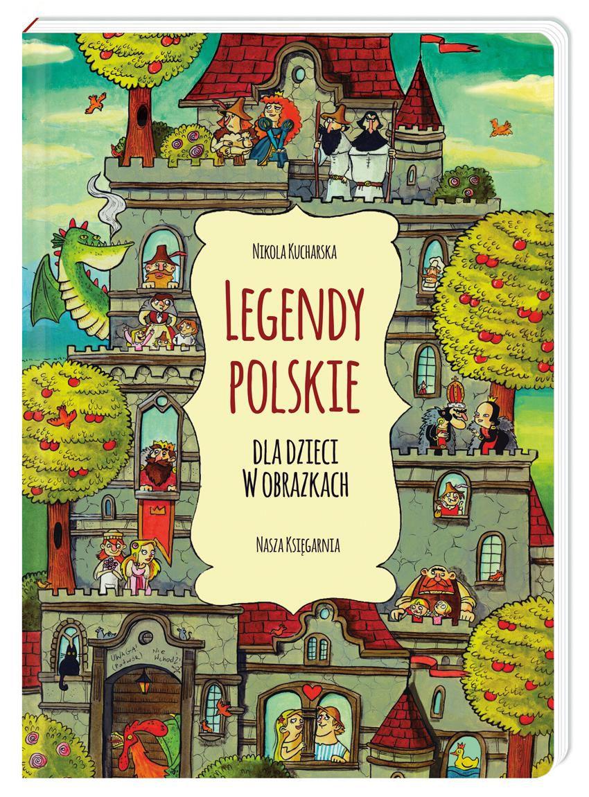 Ksiazka Legendy Polskie Dla Dzieci W Obrazkach N 7048272777 Oficjalne Archiwum Allegro