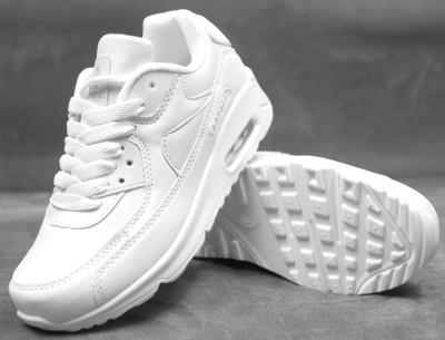 buty air max białe damskie