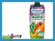 BABYDREAM SOK MULTIWITAMINA 500ml 4m