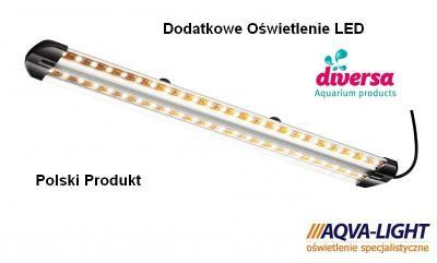 Dodatkowe oświetlenie akwarium LED 2 x 7,2 W EXTRA
