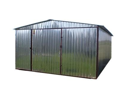 Garaż Blaszany 4x6 Dach Dwuspadowy Drzwiczki G48 6771637424