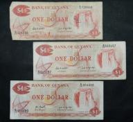 LOT - Gujana - 3 x $1