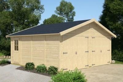Garaż Z Drewna Carport Garaże Drewniane 6738327254 Oficjalne
