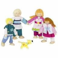 Zestaw kukiełek Rodzinka - lalki dla dzieci