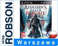 ASSASSIN'S CREED ROGUE PL PS3 W FOLII PO POLSKU