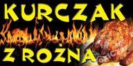 BANER GOTOWE WZORY 3x1m BAR KURCZAK Z ROŻNA grill