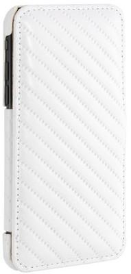 pokrowiec biały z klapką na iPhone 7 4.7 - STILGUT