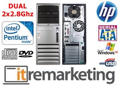 MARKOWY DWURDZENIOWY HP TOWER 2x2.8Ghz 4GB 160G XP