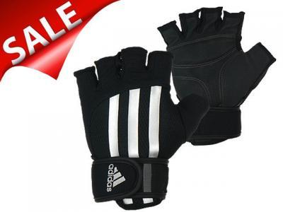 nowe wydanie gorąca sprzedaż online 50% zniżki Rękawiczki treningowe Adidas na siłownię rower S