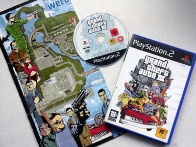 Grand Theft Auto III - GTA III + MAPA - PS2
