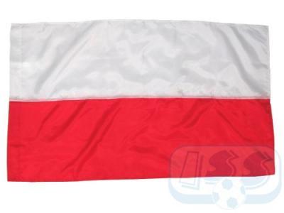 FPOL02: Polska - flaga! Flagi Polski na kij 90x60!