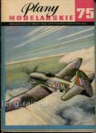 PM Plany modelarskie 75 Hawker Tempest