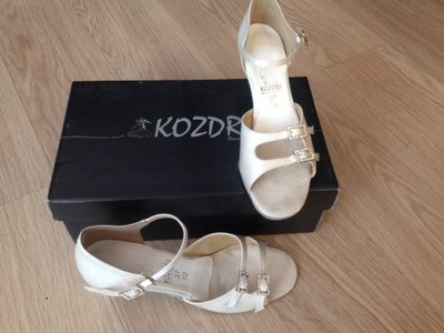 d2223e2e26412 Buty do tańca / ślubne Kozdra r. 37,5 - 6956397728 - oficjalne ...