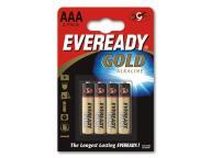 ENERGIZER Bateria EVEREADY GOLD AAA LR03 /4szt.
