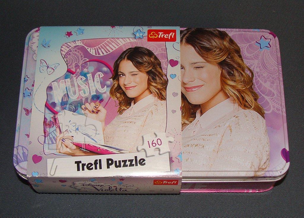 Puzzle Violetta Trefl 160el W Metalowym Pudelku 7034678752 Oficjalne Archiwum Allegro