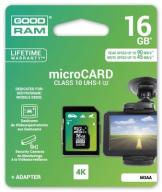 GOODRAM 16 GB micro SD HC CL10 UHS-I U3 90/45MB/s