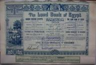 DEKO The Land Bank of Egypt 1905r