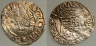 4233. WĘGRY, MAKSYMILIAN HABSBURG denar 1576