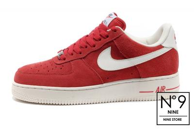 Sneakers buty Nike Air Force 1 Mid '07 unvrsty red (315123 607)