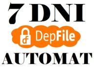 DEPFILE.COM 7 DNI + GWARANCJA + AUTOMAT 5 MIN