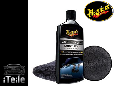 MEGUIARS Ultimate Liquid Wax Wosk 473ml ZESTAW PRO