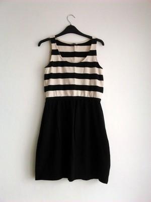 ac5c5336d1 HOUSE sukienka w paski bez rękawów rozm. M - 6778319210 - oficjalne ...