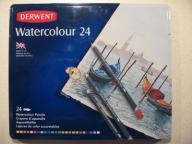 DERWENT WATERCOLOUR 24 - Kredki akwarelowe 24 szt.