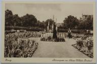 Gdańsk - Danzig - Blumengarten am Kaiser Wilhelm