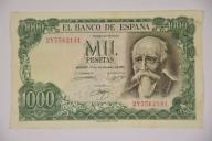 1000 PESETAS 1971 r. Stan 3 ZOBACZ TANIO!