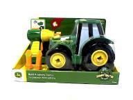 TOMY John Deere Zbuduj traktor Johnny + Narzędzia