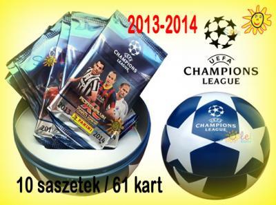 Puszka UEFA CHAMPIONS LEAGUE 2013/14 Karty Panini