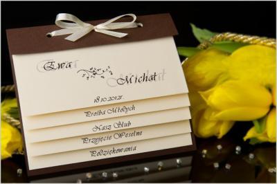 Zaproszenia ślubne 4w1 Podziękowania Poprawiny 5938209124