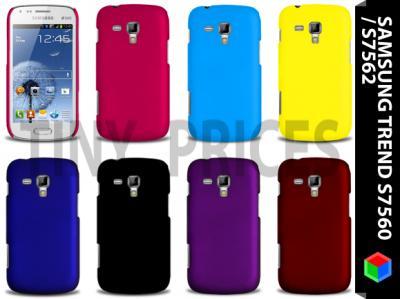 Samsung Galaxy Trend S7560   Hard Etui + Folia,