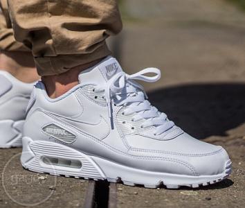 Buty męskie sneakersy Nike Air Max 90 Leather 302519 113