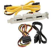 Śledź eSATA + kabel + zasilanie - firmy Gigabyte
