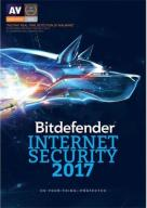 Bitdefender Internet Security 2017- 3PC/2Y/Nowa