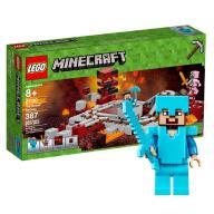 LEGO Minecraft Linia Kolejowa w Netherze 21130