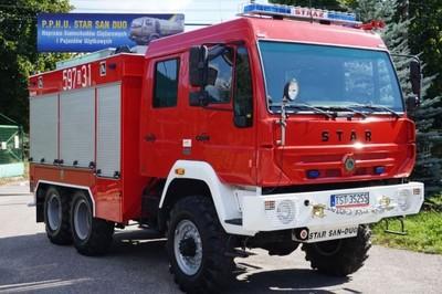 MAN 6x6 STAR 266 M samochód pożarniczy straż OPS