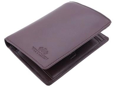 0ae94c91bea5d Skórzany portfel męski Wittchen Italy, brązowy - 6612284399 ...