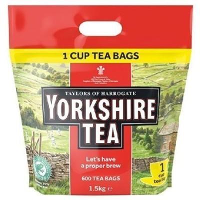 Yorkshire Tea Angielska Herbata - 600 sztuk 1,5 kg