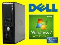 DELL 755 C2D 2X3000 2GB RAPTOR 80 DVDR WIN 7 HP PL